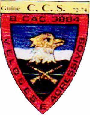 Companhia de Comando e Serviços do Batalhão de Caçadores 3884 Guiné 1972/1974