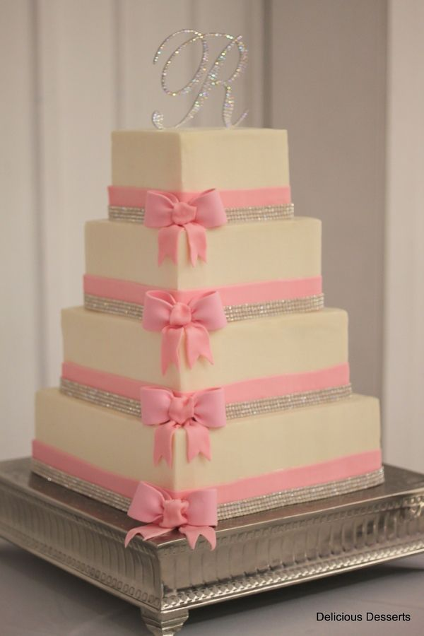 Inspired by a delicate pink bow invitation
