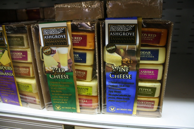 Beer Lovers and Wine Lovers Cheese packs from Ashgrove
