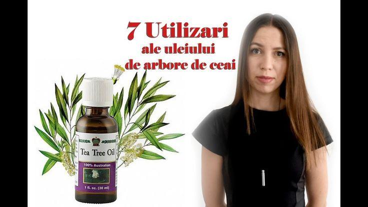 """Uleiul de arbore de ceai & """"Farmacie intr-o sticla"""""""