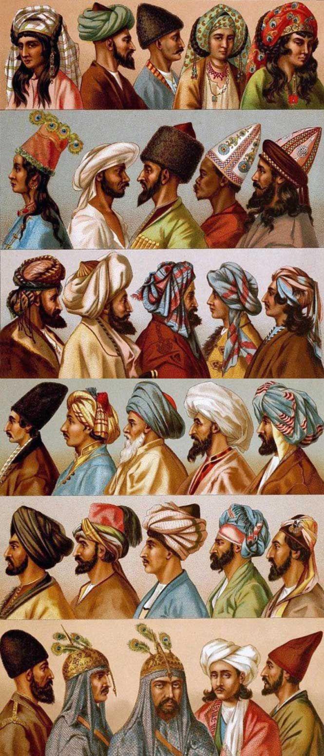 persian hats