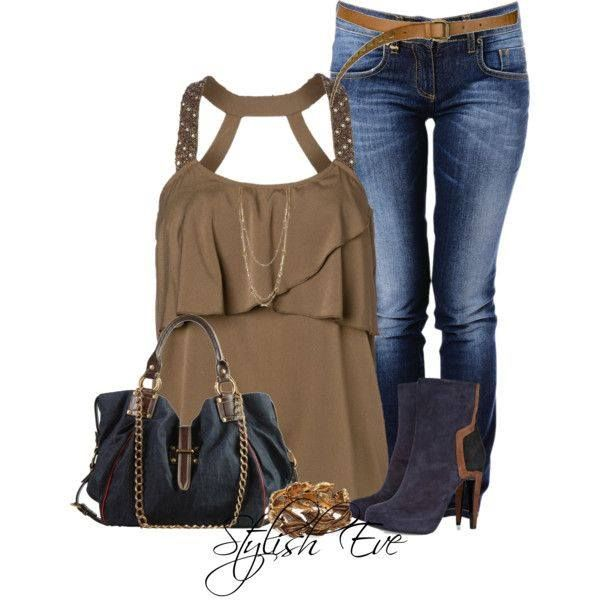 Would you rock this chic outfit?