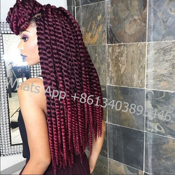Crochet Braids 22Havana Mambo Ombre Twist Crochet Braid