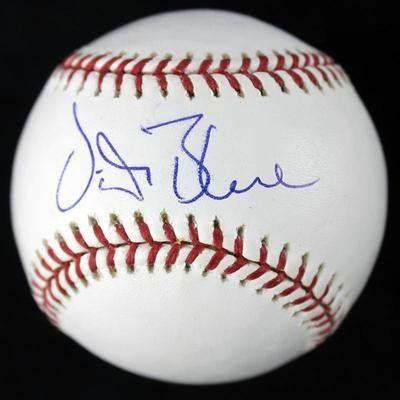 Blue Vida Autographed Baseball - Oml #s85212 - PSA/DNA Certified - Autographed Baseballs by Sports Memorabilia. $66.11. ATHLETICS VIDA BLUE SIGNED AUTHENTIC OML BASEBALL AUTOGRAPH PSA/DNA #S85212