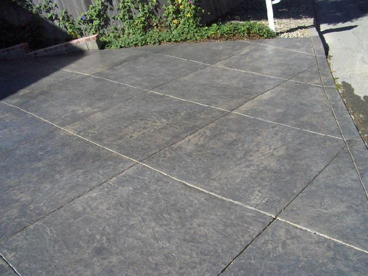 Best 25 Concrete Driveways Ideas On Pinterest Stamped