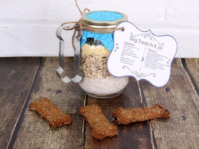 Dog Biscuits in a Jar: Gift Idea for Dog Lovers - Momtastic