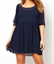 Dívčí elegantní tunika/šaty