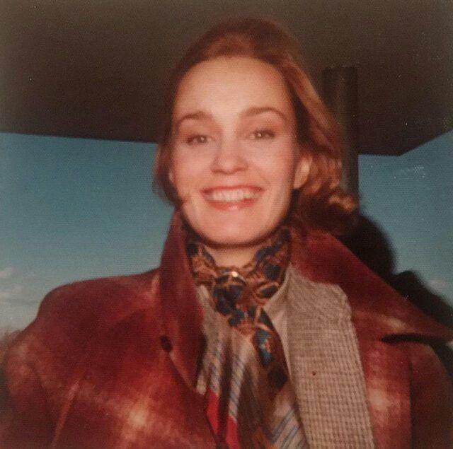 Jessica Lange, December 1976.
