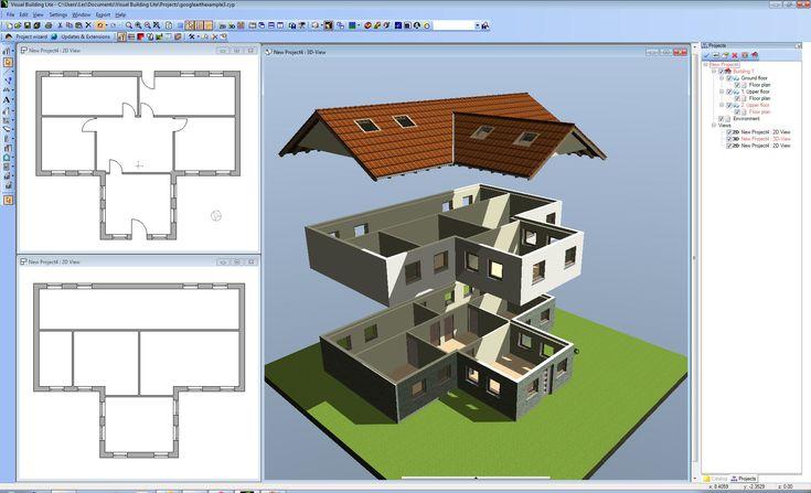 40 best 2d and 3d floor plan design images on pinterest for 3d house design software online