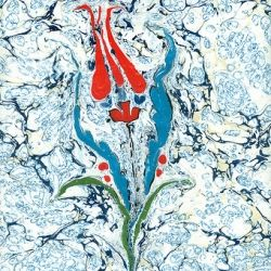 Turkish ebru painting video - Video of how Turkish ebru painting (marbling paper) is done