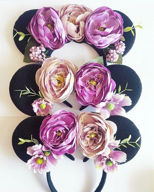 Adding these beauties to the etsy shop at some point this weekend #minnie #minniemouse #minnieears #ears #disneyears #headband #accessories #floral #floralears #accessories #disney #disneystyle #disnerds #rapunzel #Disneyland #dlp #disneybound #handmade #lubyandlola #etsy #etsyuk #etsyseller #girlboss #pretty