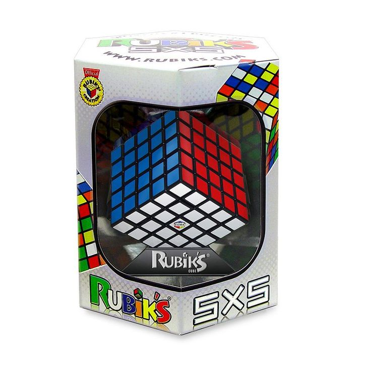 Rubik's 5x5 Brain Teaser by Winning Moves, Multicolor
