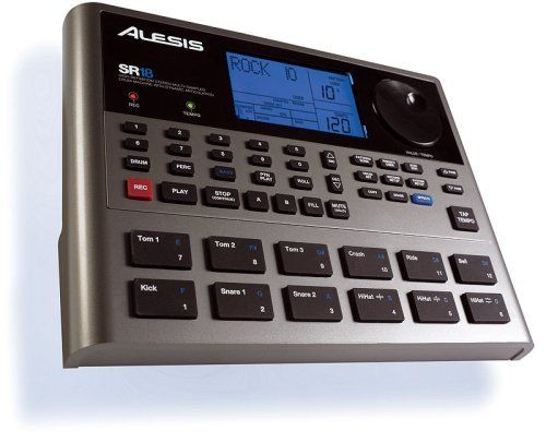 Alesis SR18 Digital Drum (SR-18) - by Alesis. $226.23. Alesis SR 18 Drum Machine: Alesis SR18 Alesis SR18 SR 18 Professional Drum Machine PORTABLE PRO GRADE DRUMS FOR MOBILE MUSICIANS. Alesis knows drums. The legendary SR 16 ignited the drum machine market in 1990 and has remained a classic ever since. The SR 18 is designed to meet the demands of todays musicians. Introducing the SR 18. Following in the tradition of its ancestor, the SR 18 is loaded with cutting edge drum ...