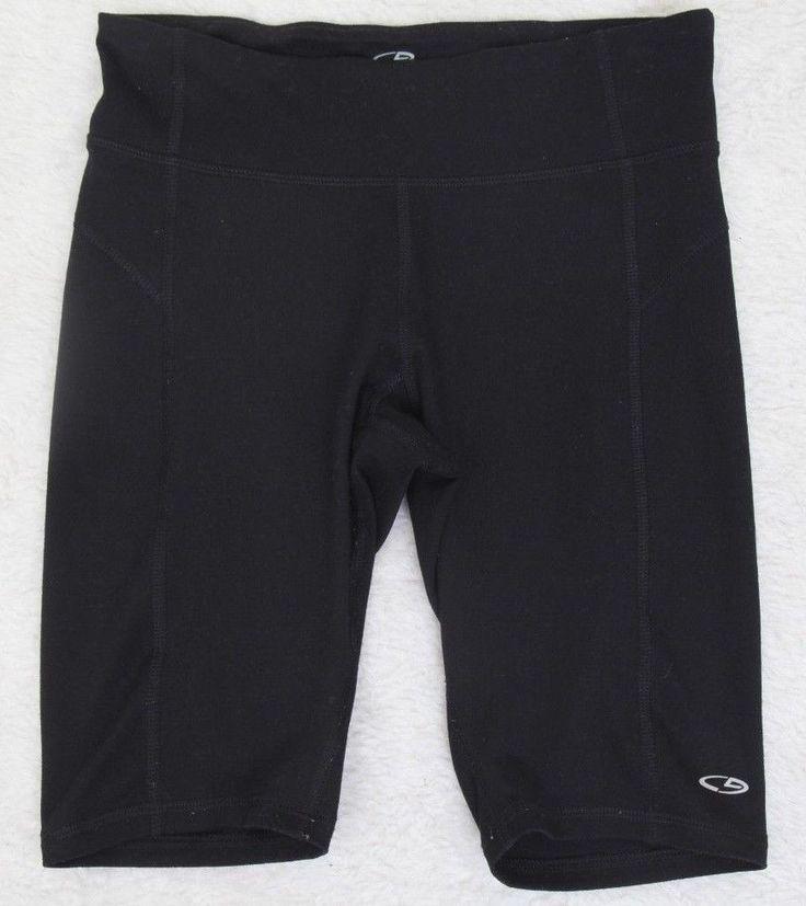 Champion Duo Dry Black Extra Small Shorts Polyester Spandex Athletic XS 25 x 9.5 #ChampionDuoDry #AthleticShorts