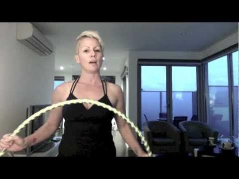 Hula Hoop Dance Tutorial - Hinge Transitions - Hula Hoop Workout