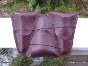 Rocky Mountain Custom Leather trumpet mouthpiece case