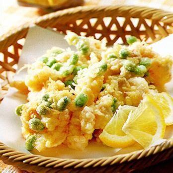 えびと枝豆のかき揚げ | 吉田瑞子さんの天ぷら・かき揚げの料理レシピ | プロの簡単料理レシピはレタスクラブニュース