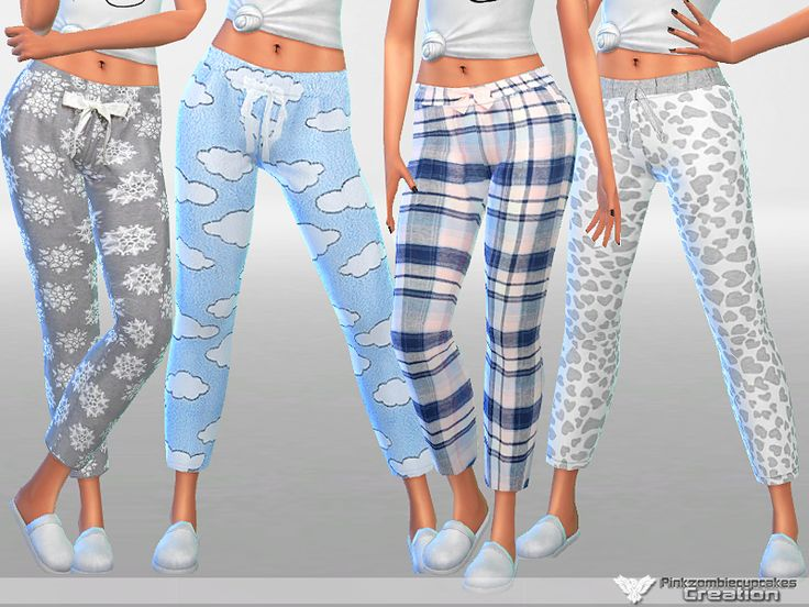 4 styles  Found in TSR Category 'Sims 4 Female Sleepwear'