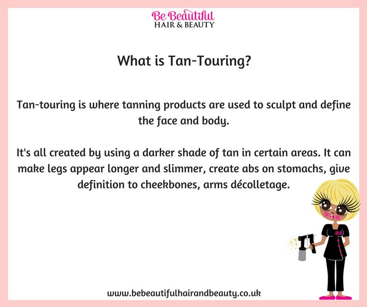 What is Tan-Touring?...