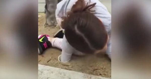 She Stuck Her Arm Down A Drain Pipe...What This Little Girl Pulled Out Is Amazing