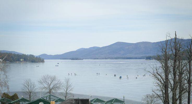 12 best lake george ny images on pinterest lake george for Ice fishing ny