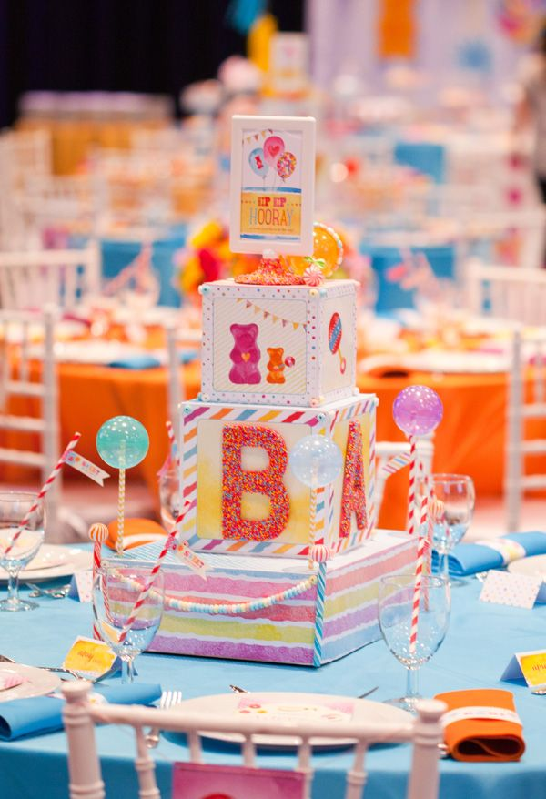 Sweet Surprises Candy Baby Shower {Recap Part 1 -   General Event Overview}