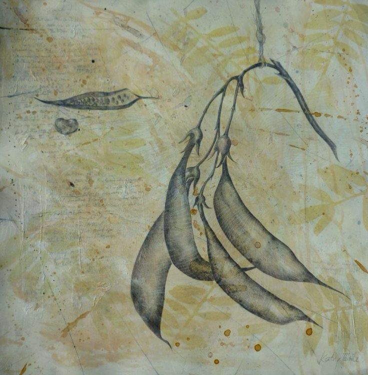 Print, graphite drawing, artist Kathy Boyle