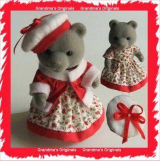 Clothing Boutique for Sylvanian Families Christmas Costumes - Grandmas Originals