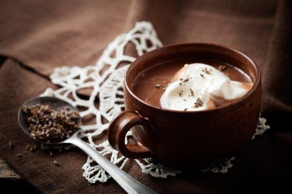 Горячий шоколад с лавандой, ссылка на рецепт - https://recase.org/goryachij-shokolad-s-lavandoj/  #Вегетарианскиерецепты #Напитки #Рецептыдлядетей #блюдо #кухня #пища #рецепты #кулинария #еда #блюда #food #cook