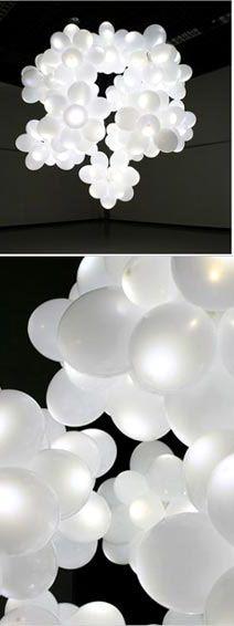 LED Lights inside Balloons