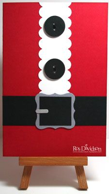 Santa suit by ros - Cards and Paper Crafts at Splitcoaststampers