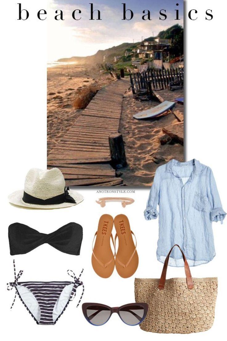 Classic beach gear.