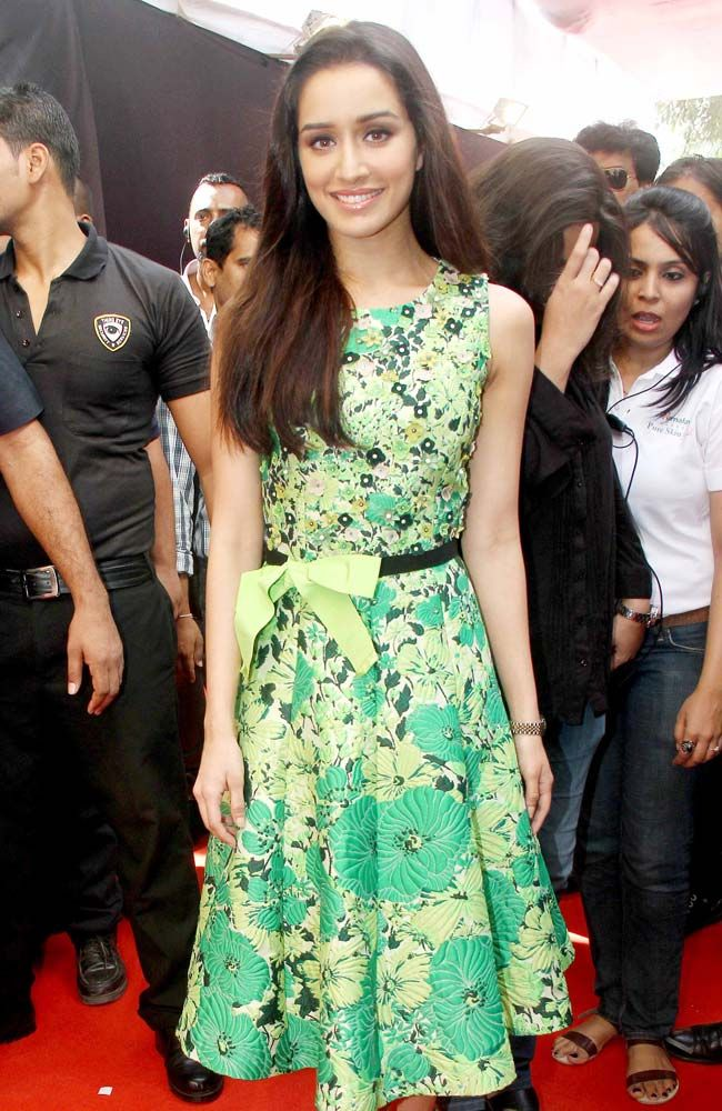 Shraddha Kapoor at a promotional event in Mumbai.