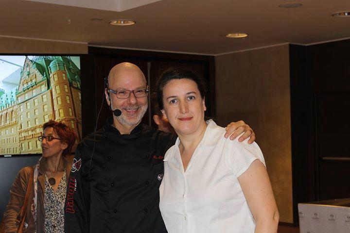 Iris Manco con Ron Ben Israel