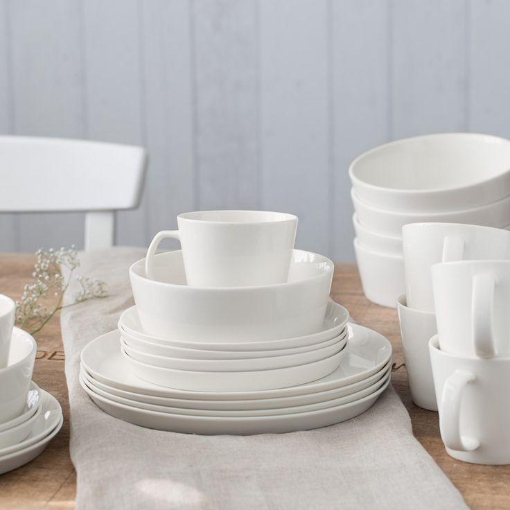 Für alle die gerne Gäste verwöhnen: Geschirr-Set Svea von Springlane Kitchen, 24 tlg.