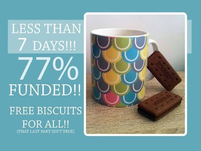 Retro home: mugs and coasters retro style! by Jennie Louise whitham — Kickstarter