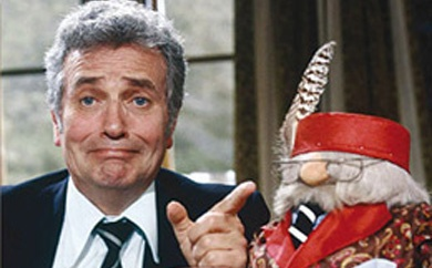 Michael Bentine's Potty Time. Frightened the life out of me. Bizarre!