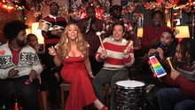 "Watch Late Night with Jimmy Fallon: Jimmy Fallon, Mariah Carey & The Roots Sing ""All I Want for Christmas Is You"" online 