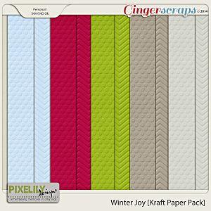 Winter Joy [Kraft Paper Pack]