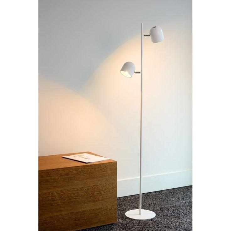 Lucide Skanska Vloerlamp LED - Wit
