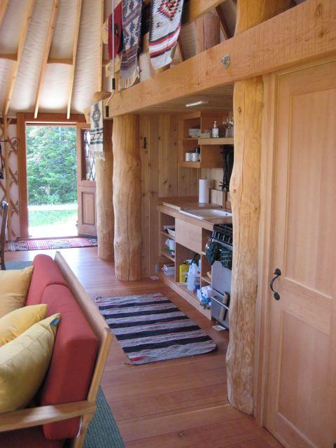 Yurt Interior Flooring   Rainier Yurts More