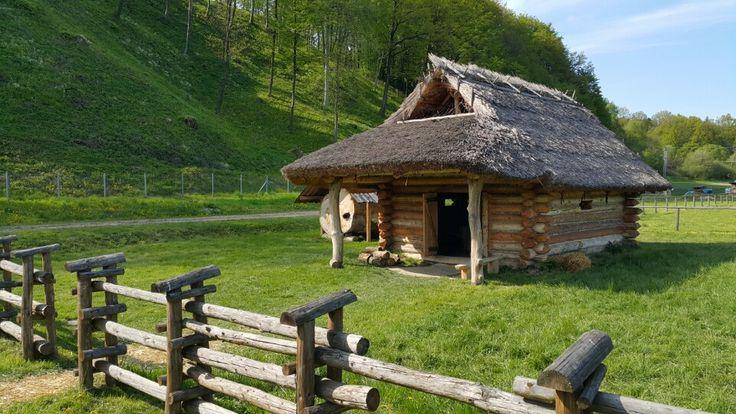 Skansen Archeologiczny Karpacka Troja in Trzcinica, Województwo podkarpackie