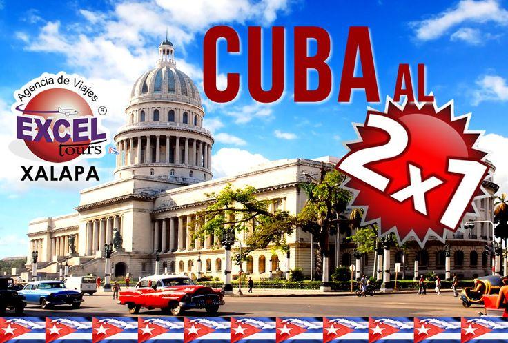 Regresa la promoción Cuba al 2x1, paga 1 y viajan 2, Reserva hoy mismo! | Agencia de Viajes en Xalapa Excel Tours