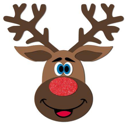 Adorable Reindeer Svg Cut File Paper Crafts Christmas