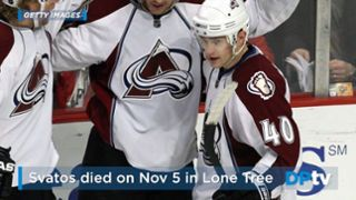 Former Colorado Avalanche winger Marek Svatos had codeine, morphine and an anti-anxiety medication in his system when he died of combined drug intoxication last month, the Douglas County Coroner&#8…