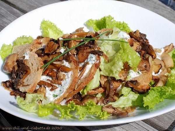 "Chili und Ciabatta: Brotchip-Pilz-""Lasagne"""
