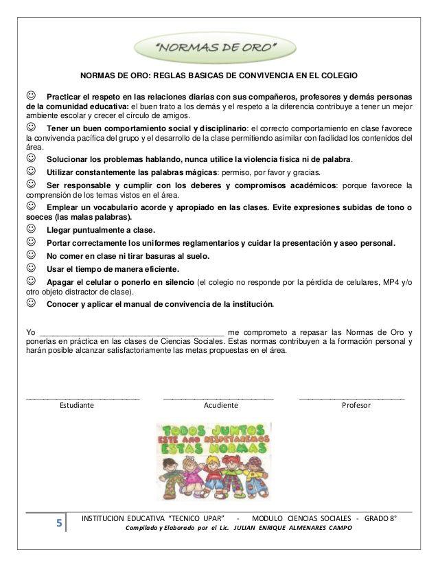 """5 INSTITUCION EDUCATIVA """"TECNICO UPAR"""" - MODULO CIENCIAS SOCIALES - GRADO…"""
