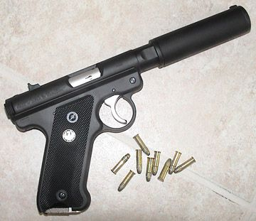 "The Ruger ""Assassin""  17 round magazine. Nice gun."