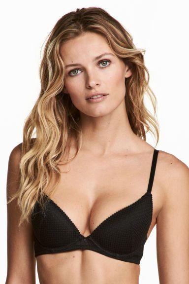 Lace push-up bra Model