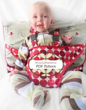 portable high chair pdf pattern.  might help keep Tommy in high chair